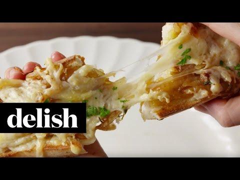 French Onion Cheesy Bread | Delish