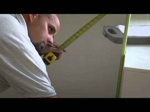Shower Doors - How To Measure Knee-Wall / Tub Deck Corner Shower Configuration Enclosure by, Coastal