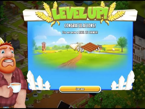 Hay Day Live on Kamcord - Level 101 gives Diamonds ad Land. Sweet