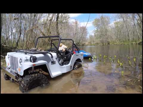 North Alabama RC Jet-drive Boat - 23 Mar 2016
