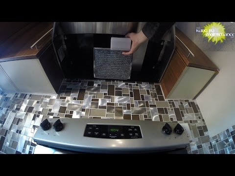 How To Change Range Hood Light Bulbs Plus Carbon Filter Often Cause Of Fan Not Working