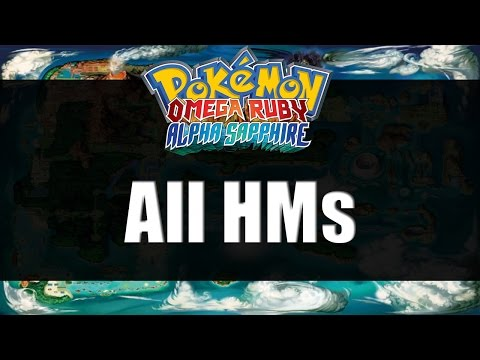 Pokemon Omega Ruby & Alpha Sapphire | All HM Locations