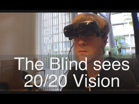 The Legally Blind Seeing 20/20 Vision For The First Time