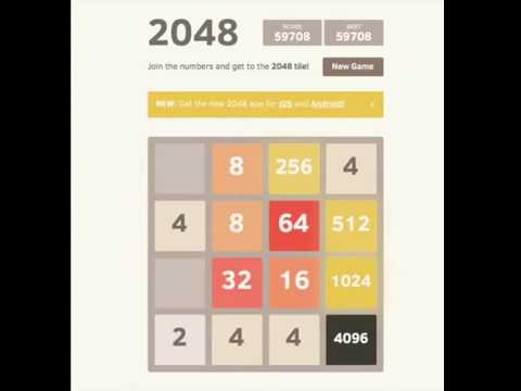 HOW TO GET A 8192 TILE IN 2048! - A FAST TUTORIAL