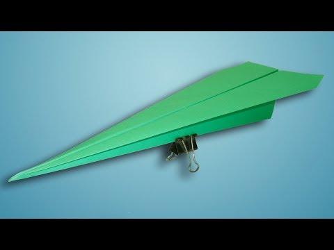 Make a Quick Paper Airplane Glider That Flies Far (Easy Tutorial)