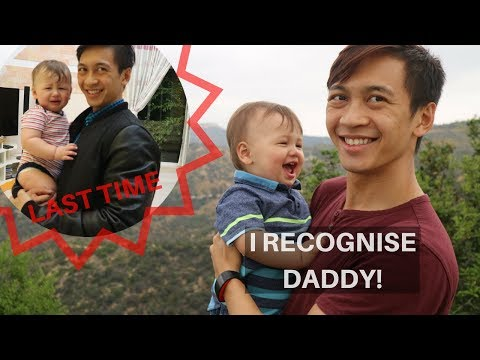 1 YEAR OLD FINALLY RECOGNISES HIS DAD || Cali Vlog 1