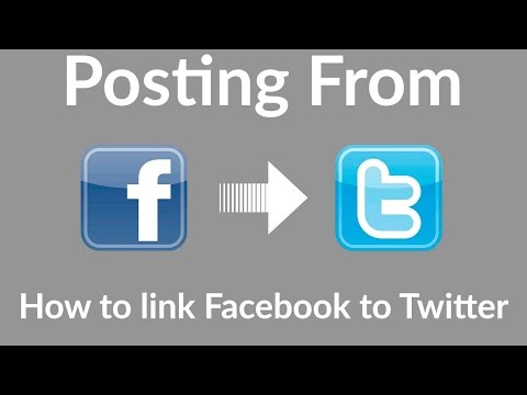 How to Connect Facebook Page to Twitter account ||  Auto post from Facebook page to twitter