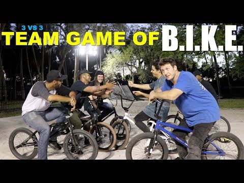 GAME OF TEAM BIKE AT CHAD'S HOUSE!