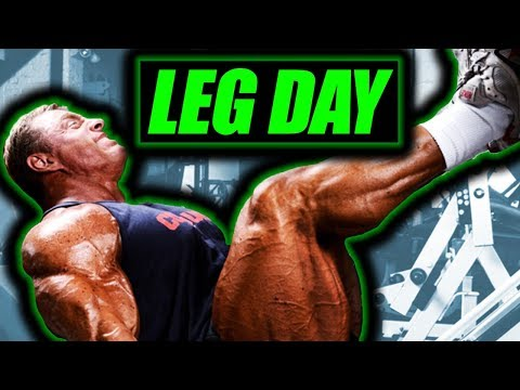 Ultimate Leg Workout for Thickness & Mass