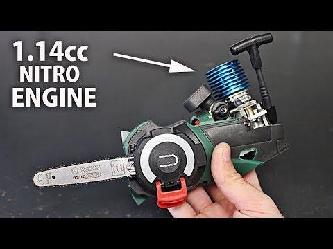 Micro Nitro Chainsaw | Part 1 | Engine & Clutch