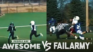 Football Kids, Gymnast Routines & Hairstyle Wins VS. Fails | People Are Awesome VS. FailArmy!