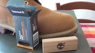 Timberland Dry Cleaning Kit Unboxing Review