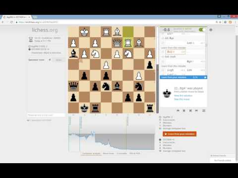 Learning from your mistakes - Lichess has best online chess features and it is free!