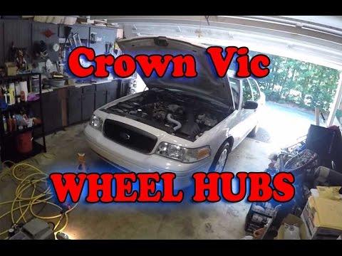 Ford Crown Vic Wheel Hub Install
