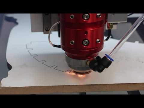 CO2 laser cutting machine for mdf melamine board