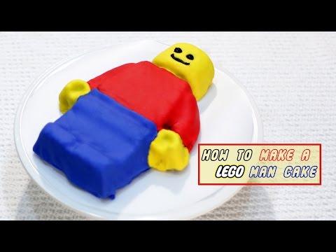 How to make a Lego Man Cake