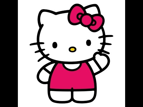 Tracing Hello Kitty SVG File Using Inkscape