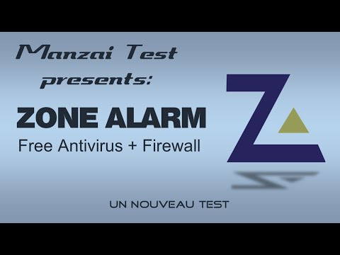 [Test Musical] ZoneAlarm Free Antivirus + Firewall 2015