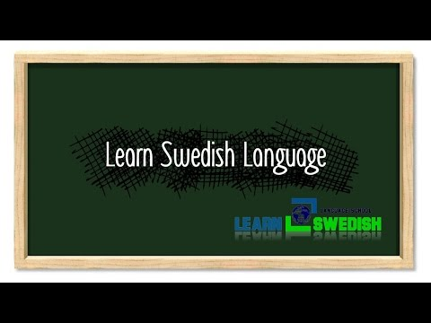 Learn Swedish Language - Placement of adverbs