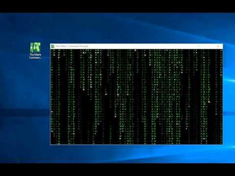 Matrix command prompt