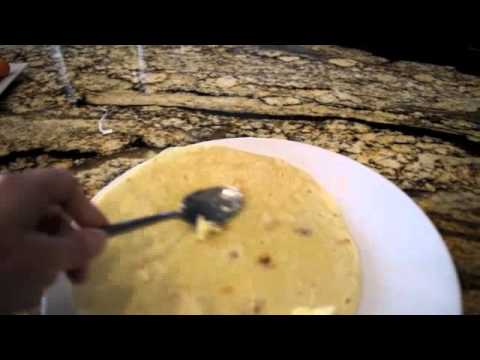 How to make a Cinnamon, Sugar and Butter Tortilla