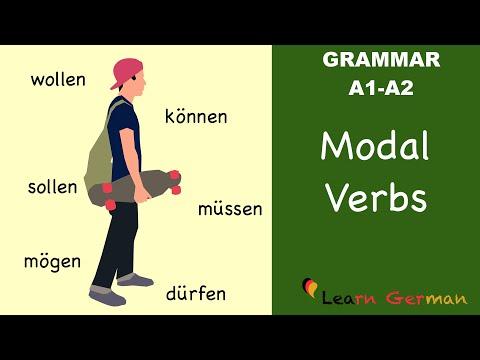 Learn German | German Grammar | Modalverben | Modal verbs | A1