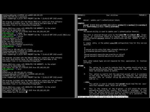 Linux Command-Line Interface (CLI) Tutorial #033 - Changing Password using