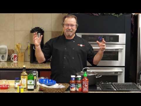 Recipe: Tomato Feta Salad and Shrimp