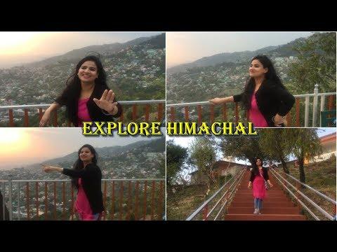HIMACHAL PRADESH  : MCLEODGANJ, Indernath Temple, BIKE RIDE, RAKKR, Bhagsunag Waterfall ( INDIA )