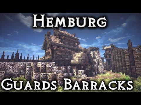 Minecraft: Hemburg - Ep18 Guard Barracks (Live Stream)