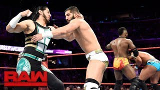 "Alexander vs. Ali vs. Nese vs. Daivari - ""Second Chance"" Fatal 4-Way Match: Raw, Dec. 11, 2017"