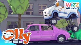 Olly the Little White Van | Olly the Chauffeur | Wizz Cartoons
