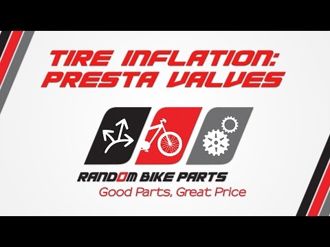 Tire Inflation: Presta Valves