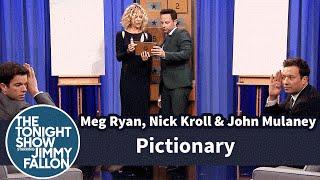 Pictionary with Meg Ryan, Nick Kroll and John Mulaney