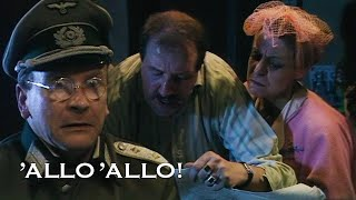 They Gave Away The Original Painting Instead Of The Forgery! | Allo' Allo'! | BBC Comedy Greats