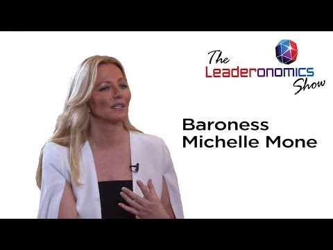The Leaderonomics Show - Baroness Michelle Mone, Founder of Ultimo Brands International