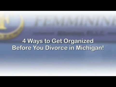 Get Organized Before Your Michigan Divorce | MichiganDivorceHelp.com