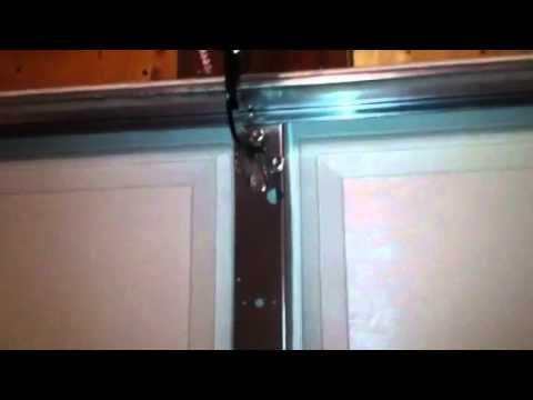 Garage door that won't open