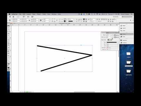 How to use the Stroke Panel in Adobe™ Indesign™