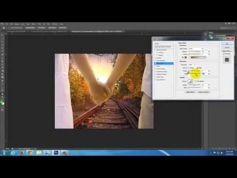 How to copy and paste an image into Photoshop - Realistic and Easy!