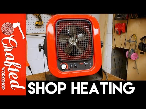 Winterizing My Workshop: Shop Heaters, Garage Door Insulation