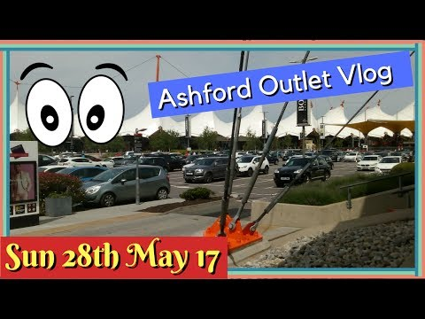 Diary of a Vlogger: Ashford Outlet Trip