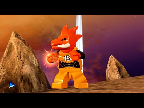 LEGO Batman 3: Beyond Gotham - Larfleeze Gameplay and Unlock Location