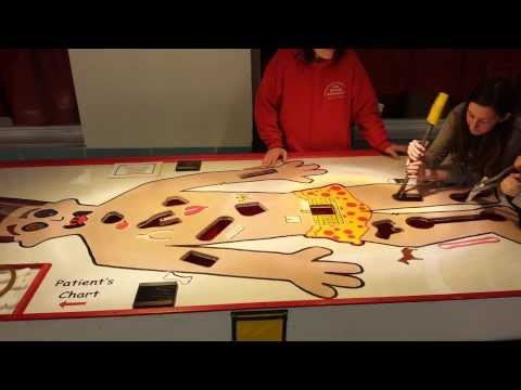 GIANT SURGERY GAME- FOUR SEASONS AMUSEMENTS
