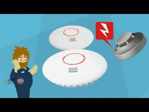 Smoke Alarms Australia -  Photoelectric Smoke Alams