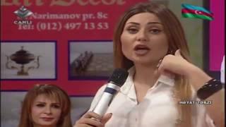 Movzu:  Qonaqlar: Sebnem Tovuzlu (mugenni) Tahire Memmedqizi (jurnalist) Gulnar Nezerli (huquqsunas)