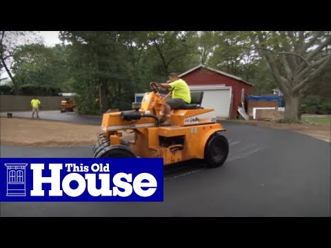 TOH: Trade School- Exclusive Preview of New Siding and a New Driveway!
