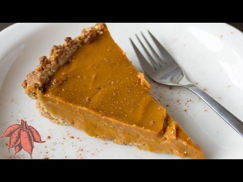 Vegan Sweet Potato Pie | Easy Thanksgiving Recipe