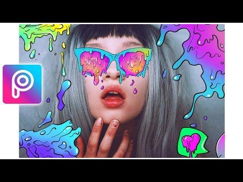 Cara Edit Creative Grime Art di Picsart Android dan iOS | Tutorial