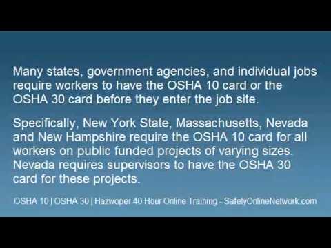 OSHA 10 Card.wmv